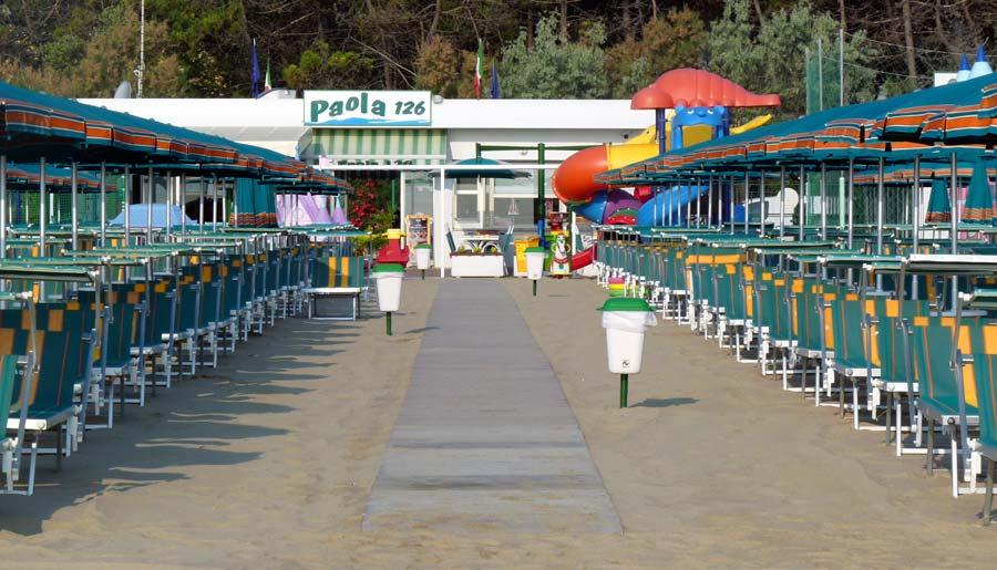 Bagno Paola 126 - Pinarella di Cervia